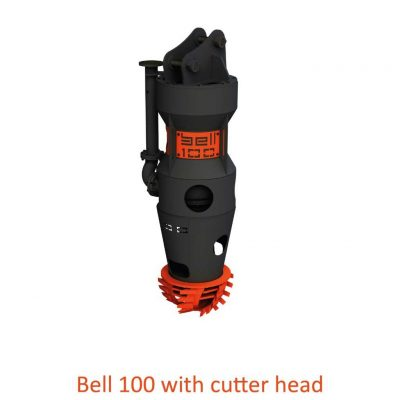 Bell 100 with cutter head